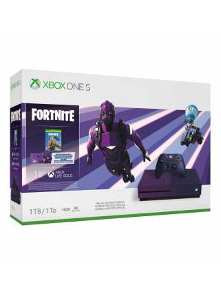 Xbox One S 1TB Fortnite Special Edition